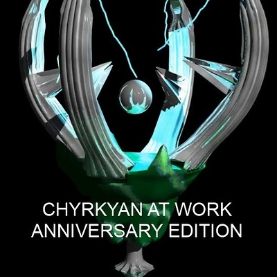 Massimiliano ciullo chyrkyan at work anniversary