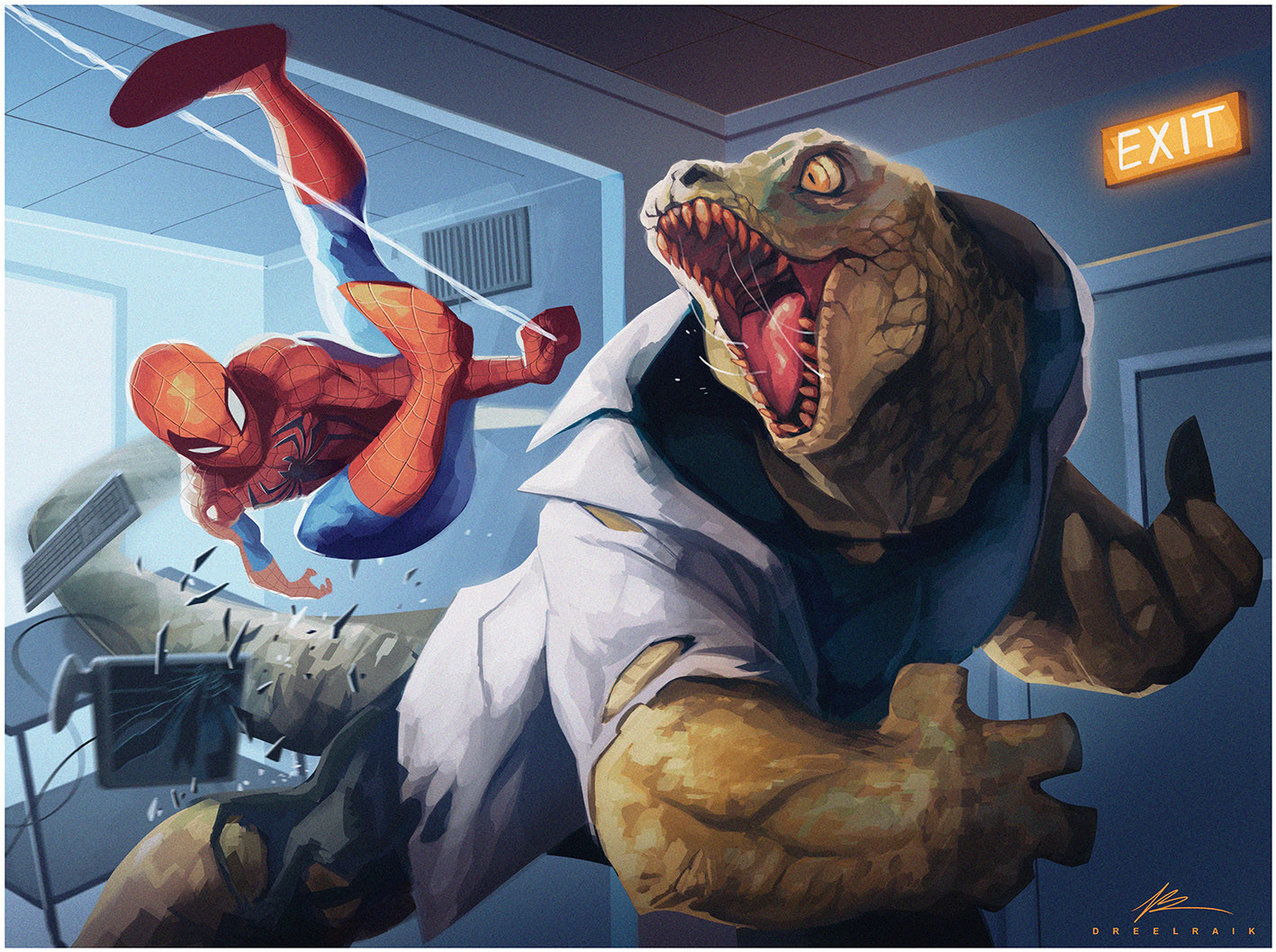 Valerio dreelrayk buonfantino spiderman vs lizard