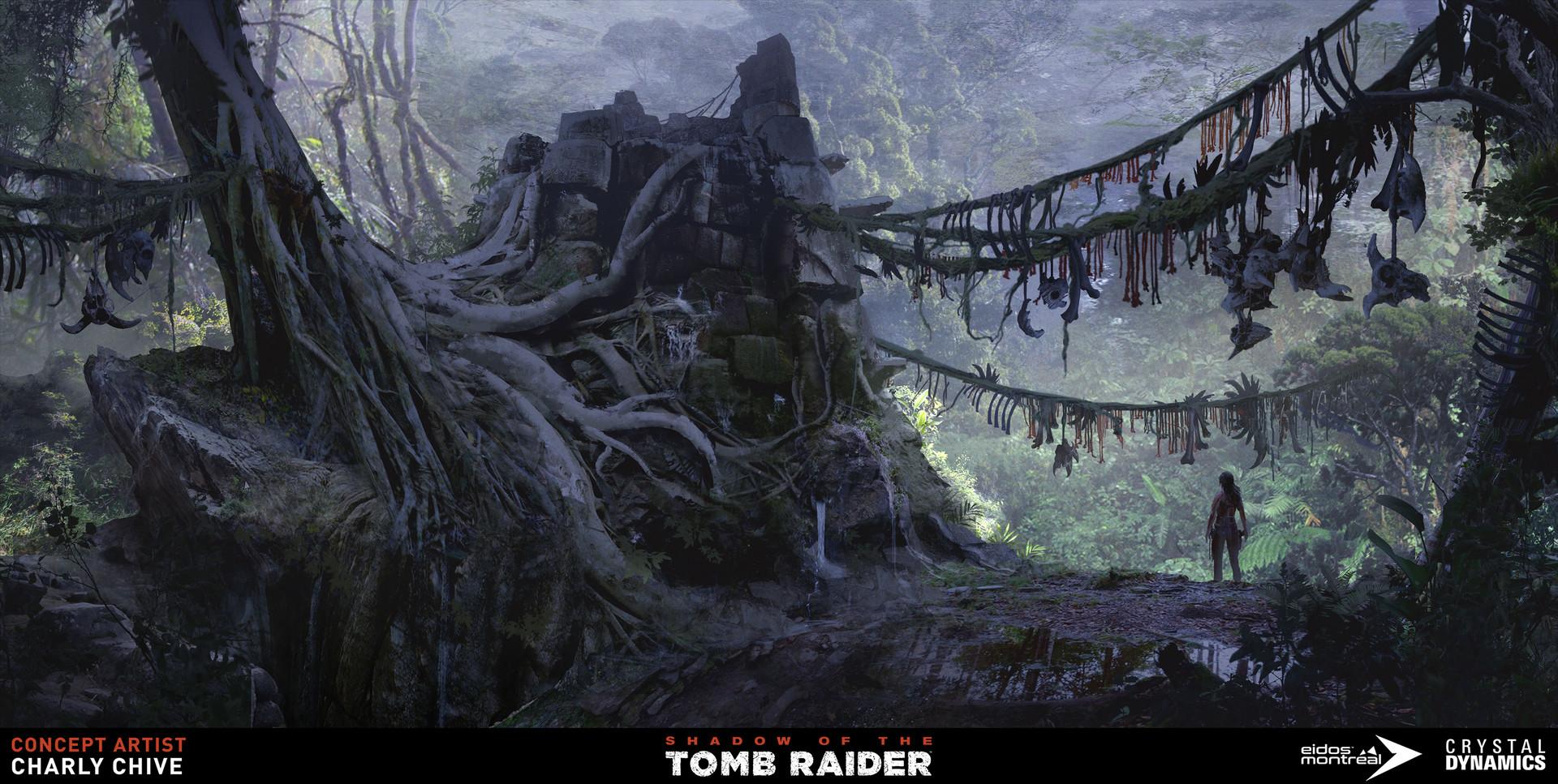 ArtStation - Shadow Of The Tomb Raider / Environments