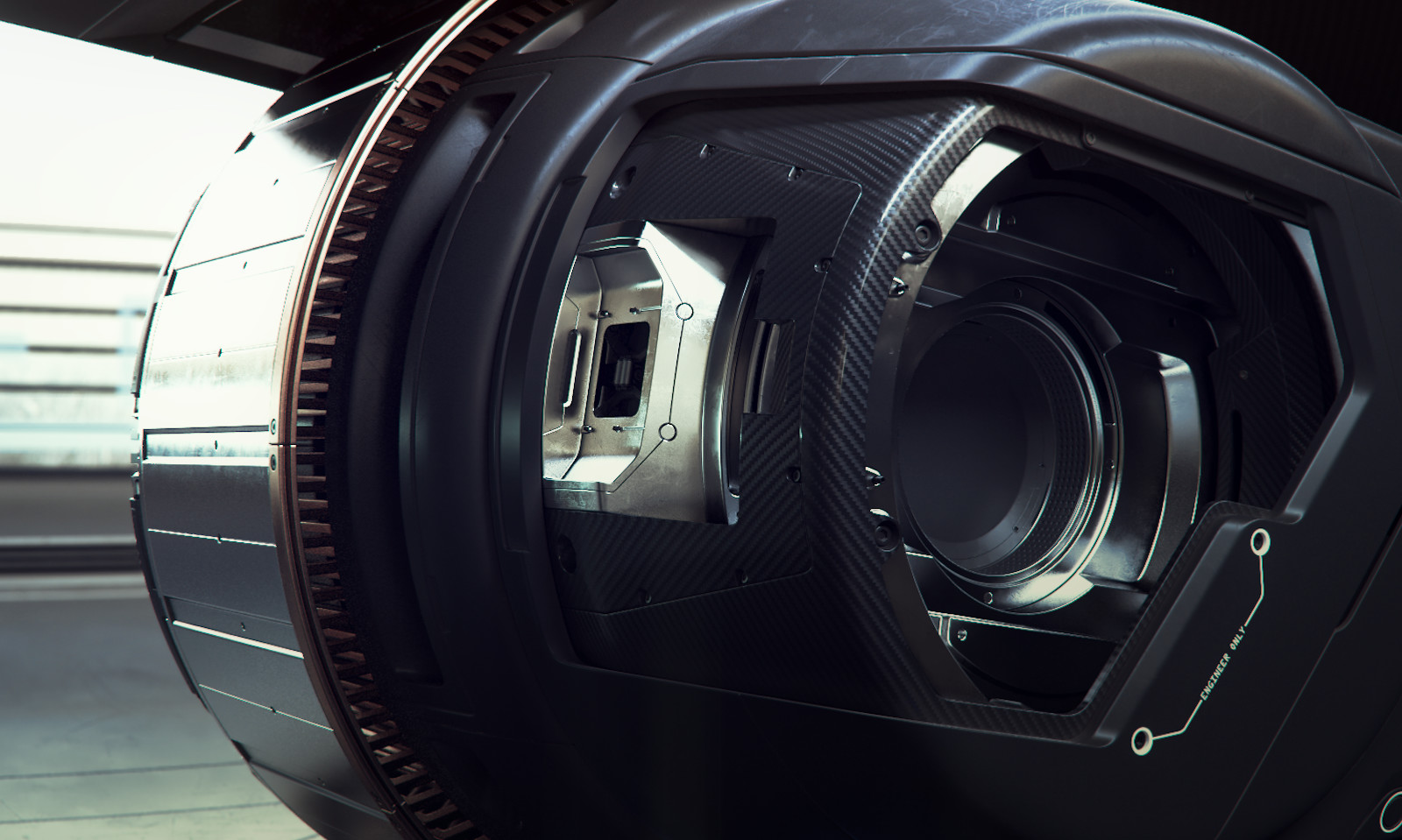 Rear drive internals