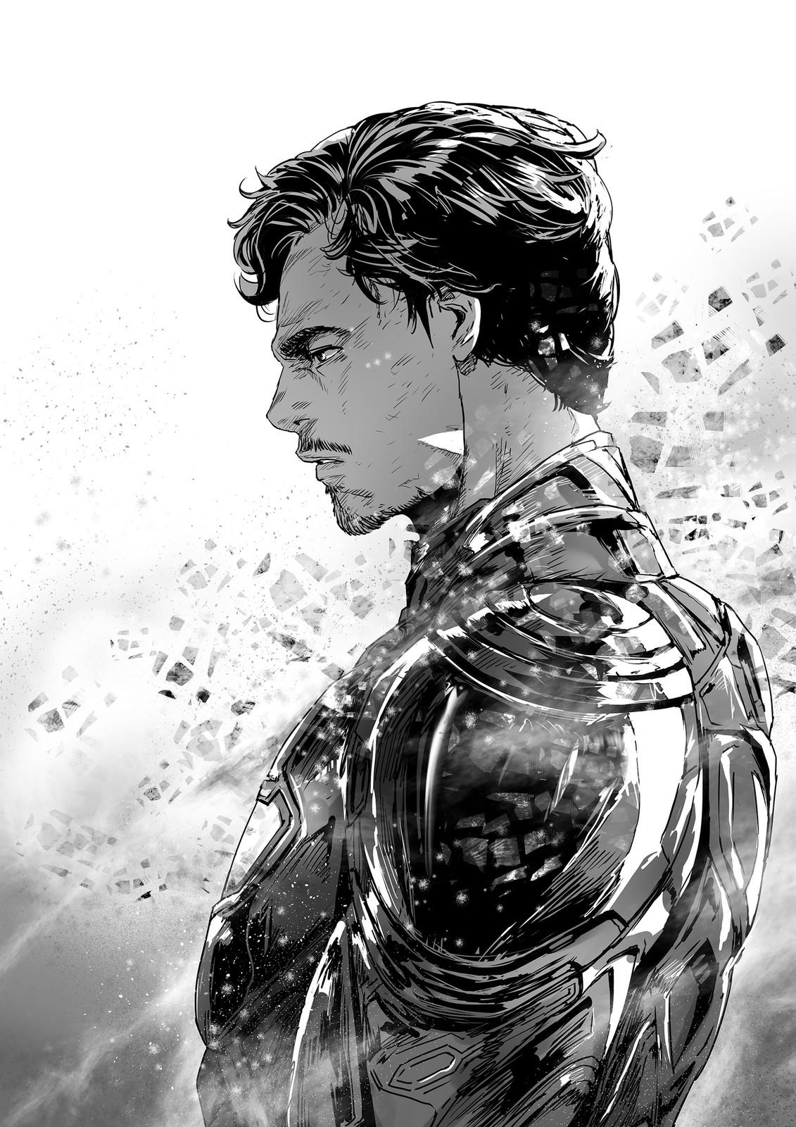 "Peter Parker : ""I'm sorry."""