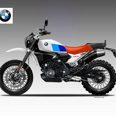 Oberdan bezzi bmw g 310 classic gs concept