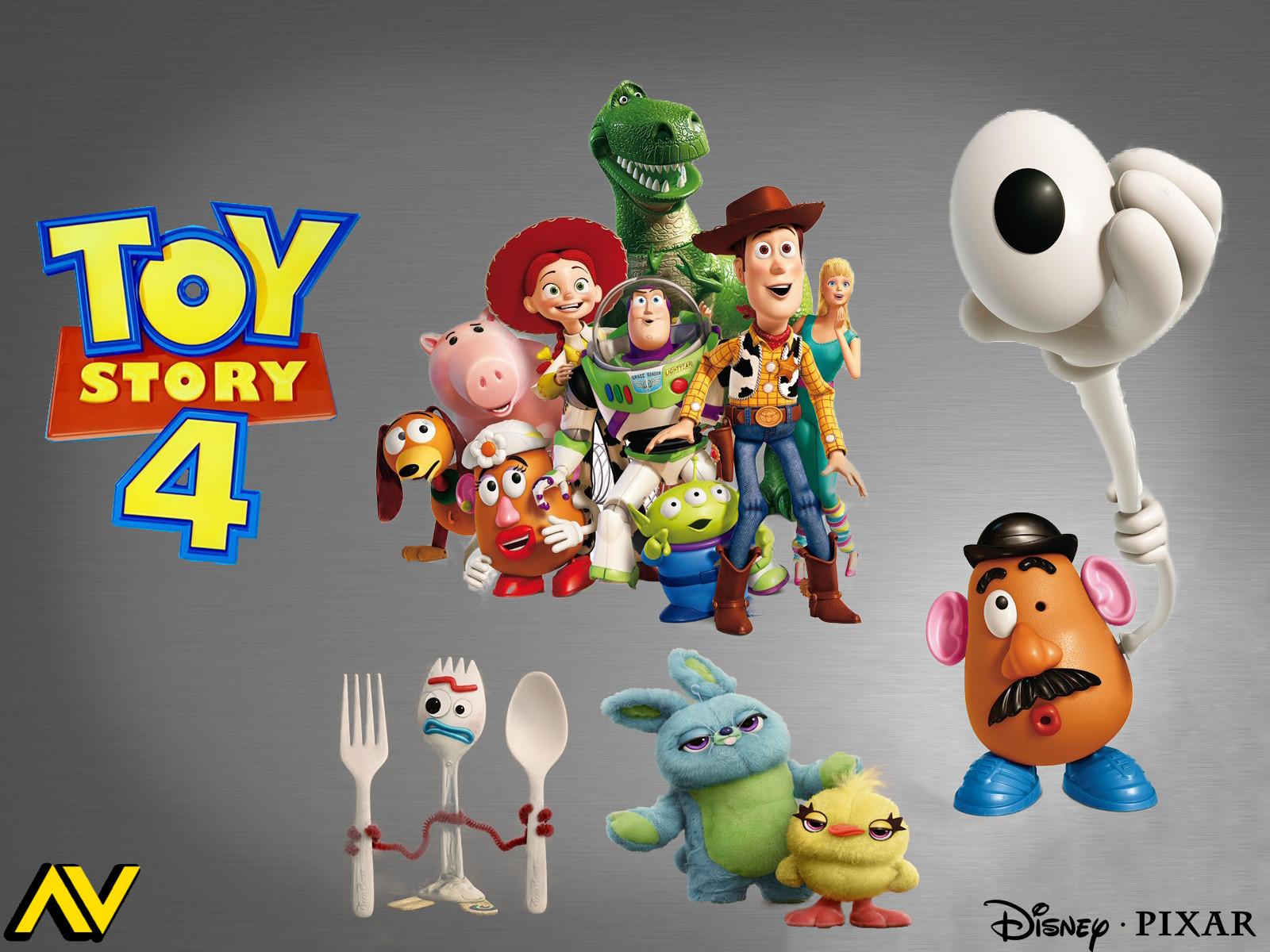 Artstation Toy Story 4 Poster Design Vindz Henchman