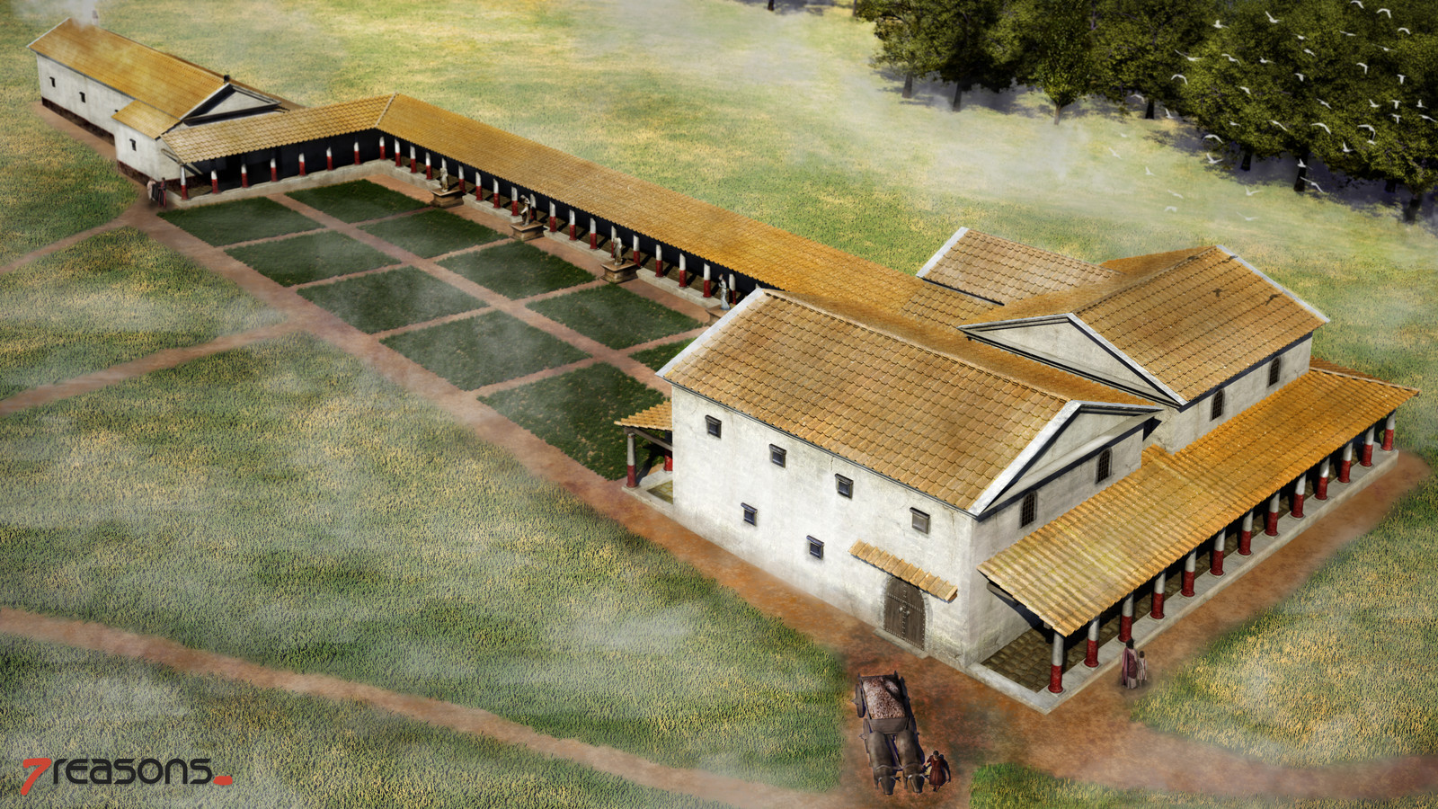 Roman Villa of Weirading