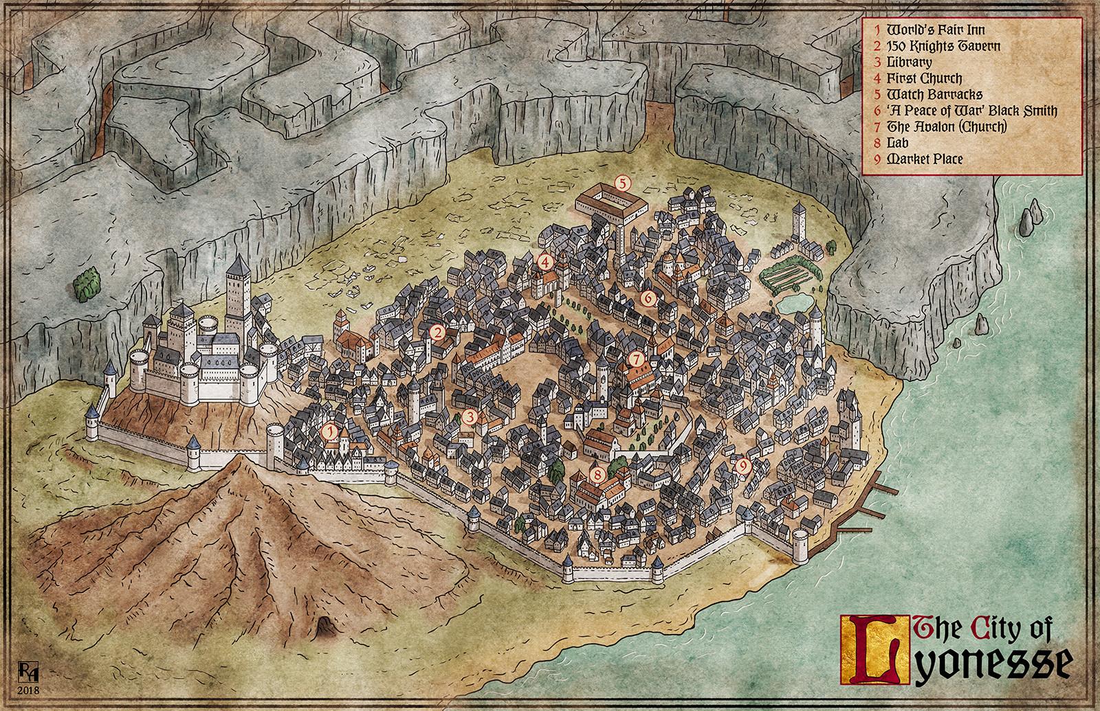 City of Lyonesse