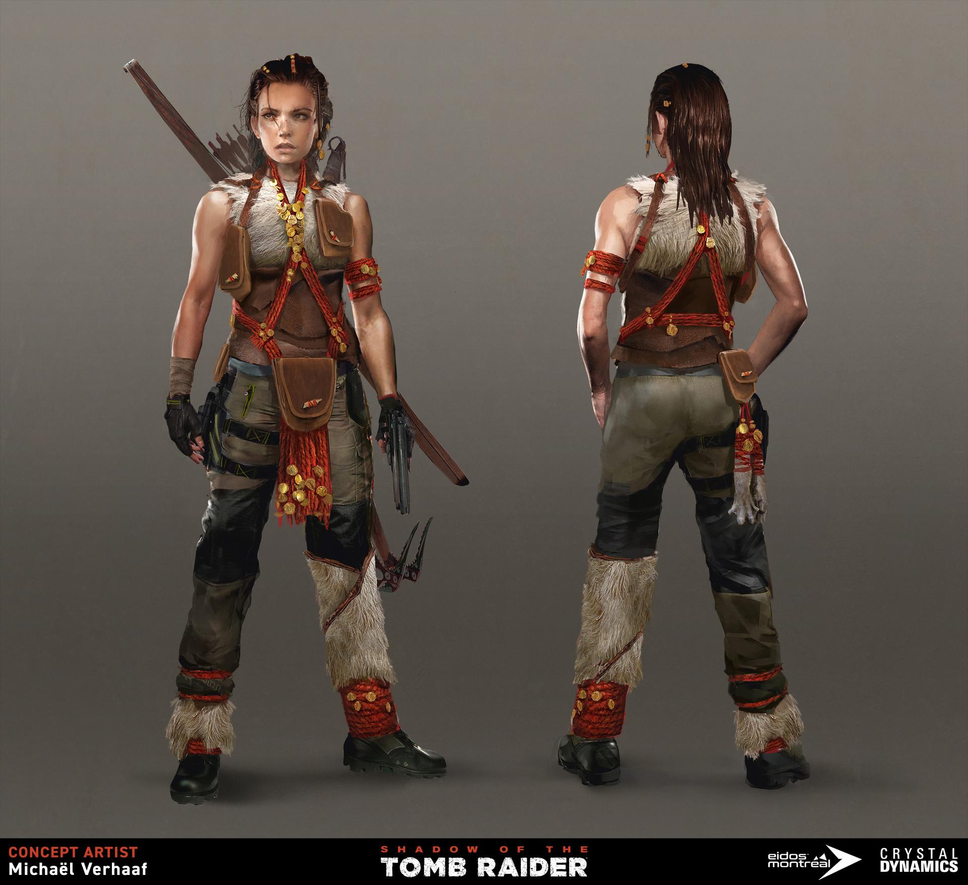 Artstation Shadow Of The Tomb Raider Michael Verhaaf