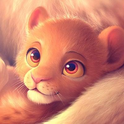 Lea dabssi lion king