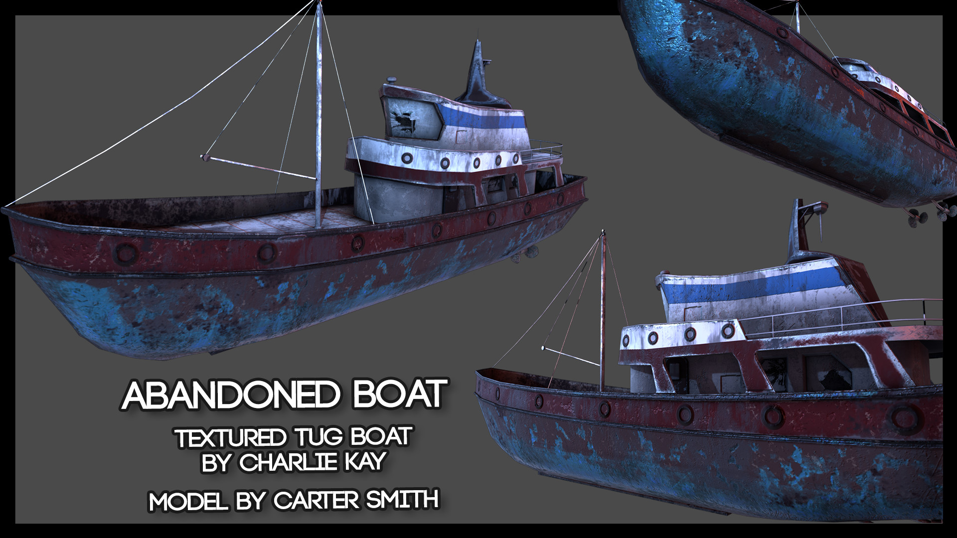 Charlie kay tug boat