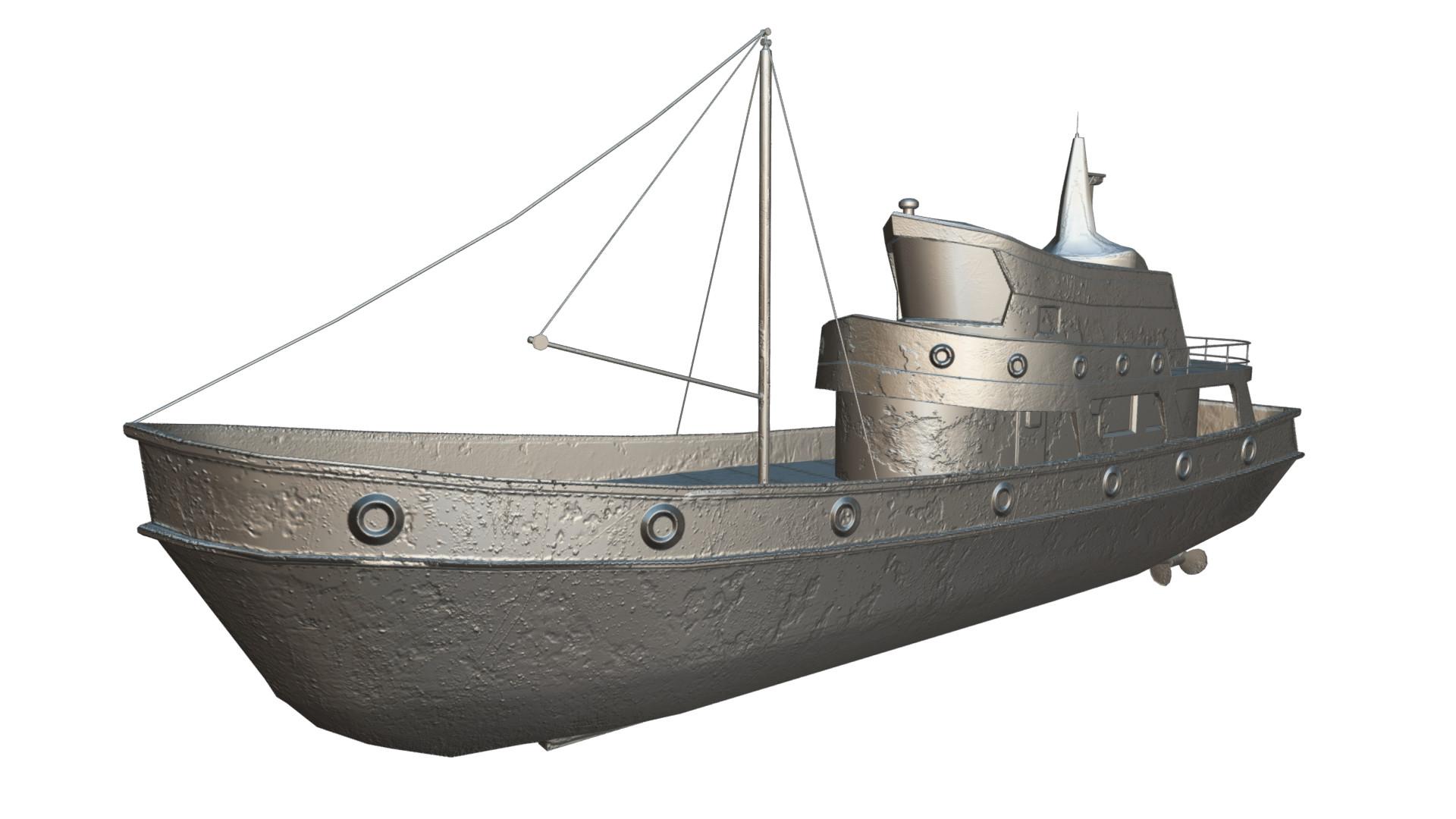 Charlie kay boat ruin