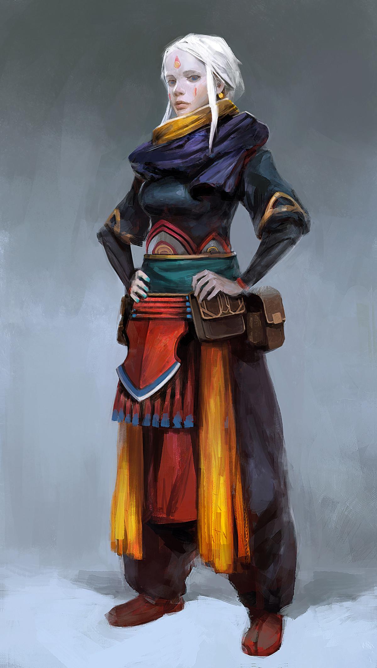 Yuan cui female villager preview
