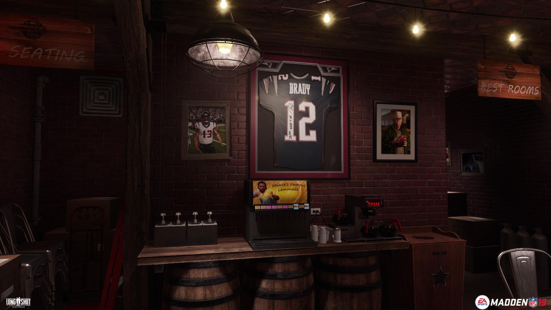ArtStation - Munce Bar (Madden 19), Connor Hollis