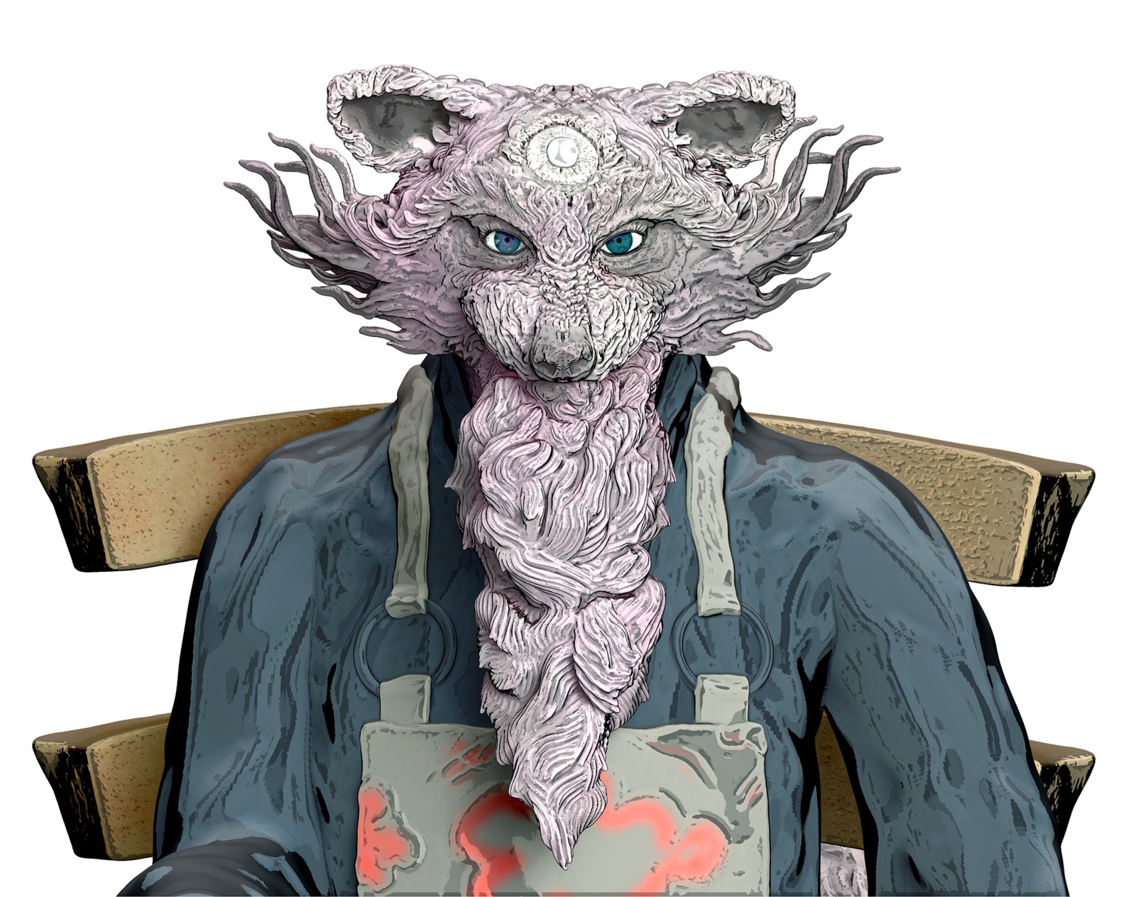 Tea Master - Toon Face Detailed
