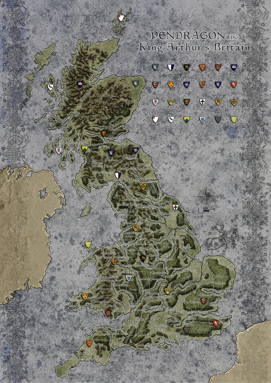 Britain of Arthur Pendragon