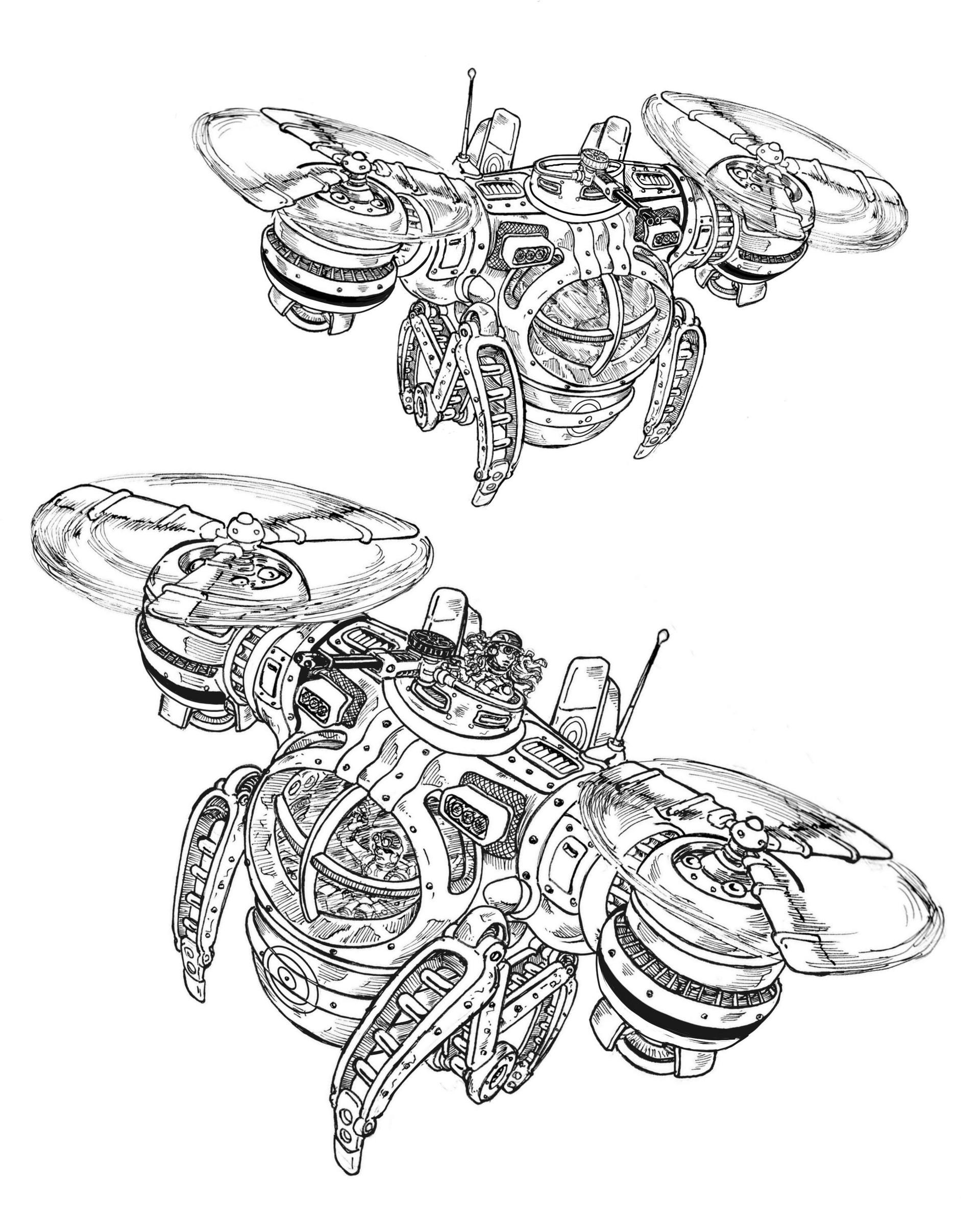 Vincent bryant dual rotors