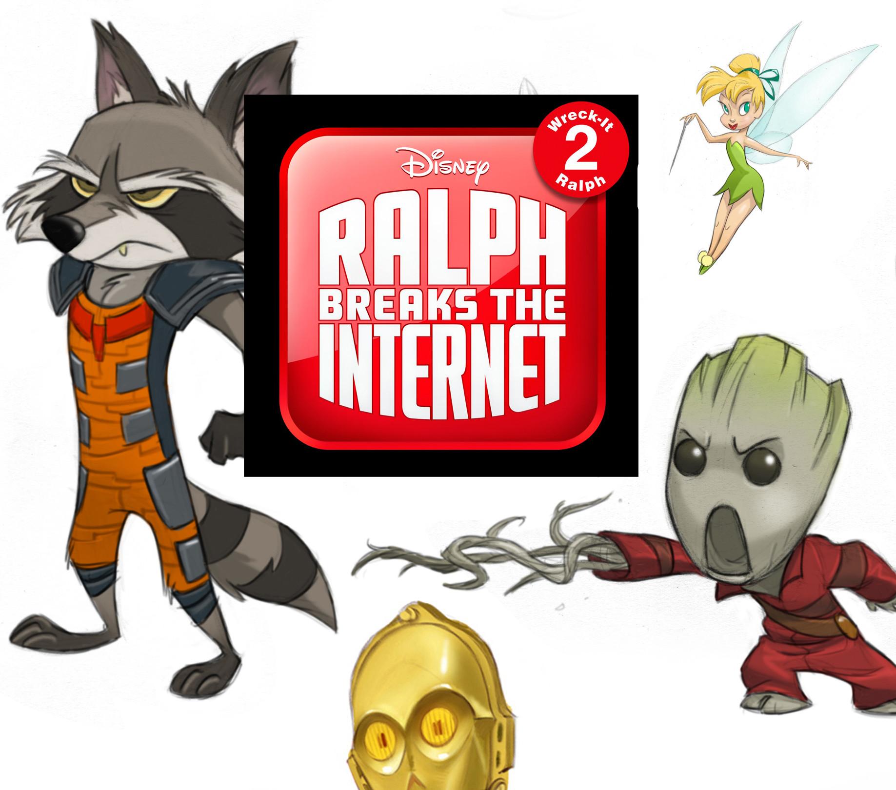 Artstation Ralph Breaks The Internet Oh My Disney Star Wars And Marvel Jeff Merghart