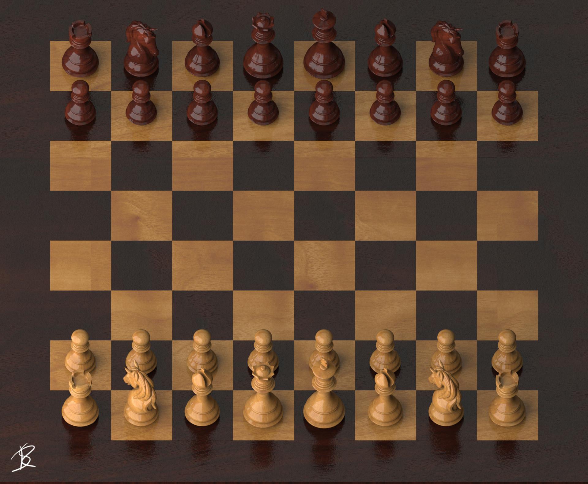 Rob sullivan chess wood