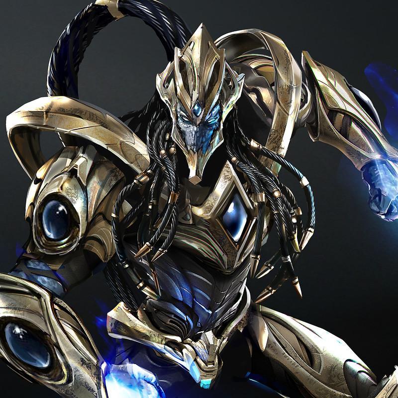 Starcraft Protoss Zealot - Fan Art