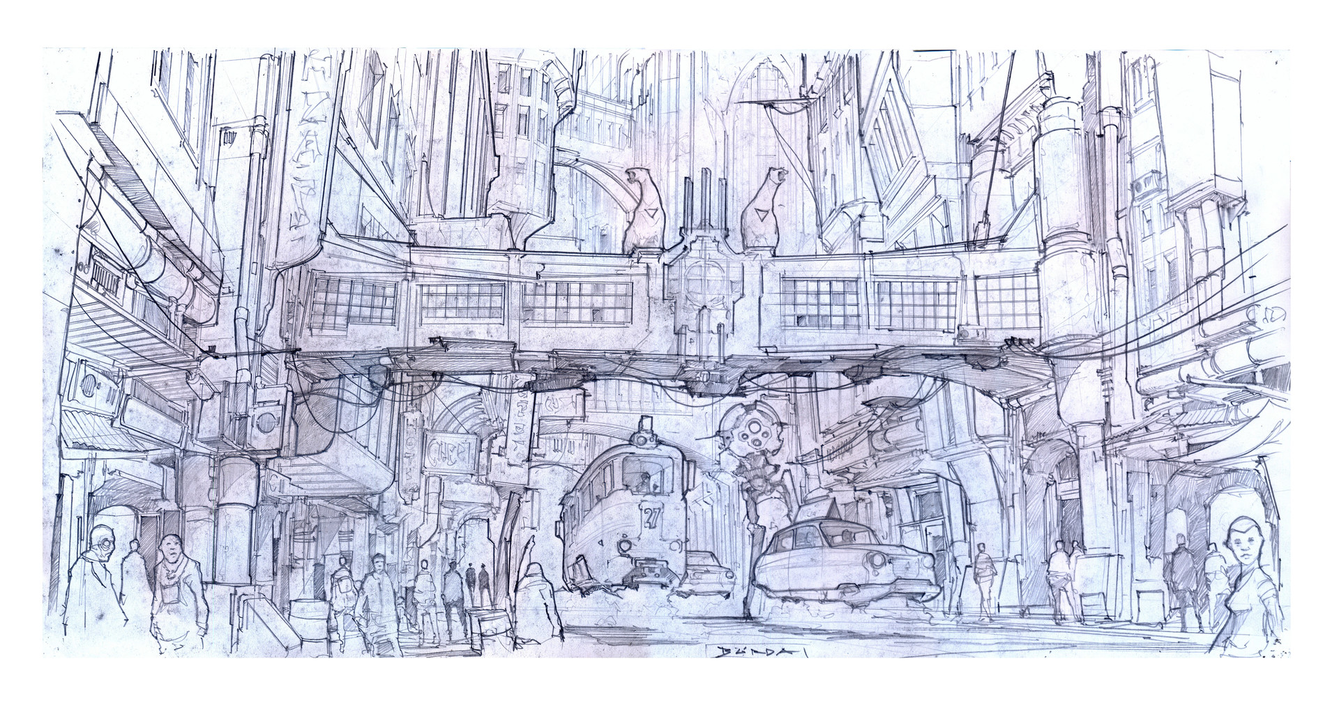 Alejandro burdisio acropolis sketch1