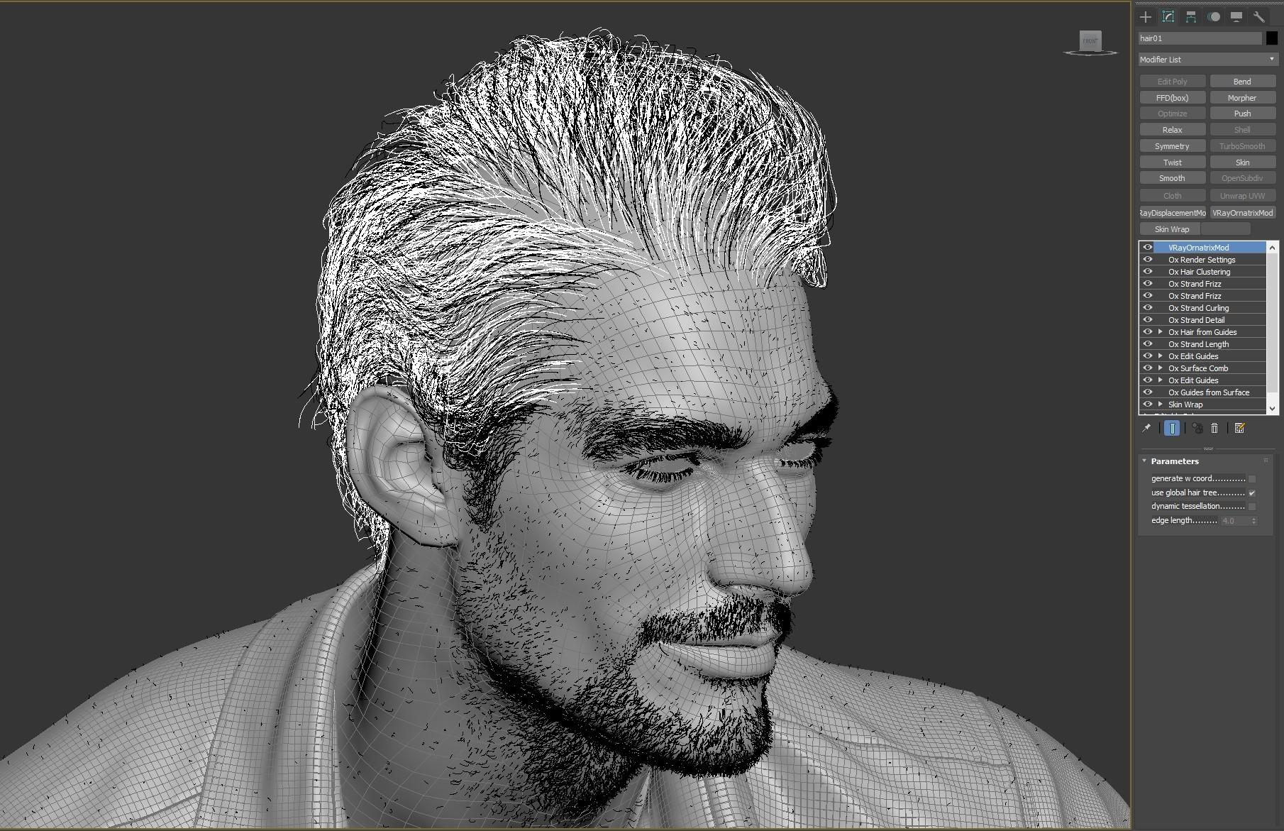Making David Gandy Likeness by Lim Jaegil – zbrushtuts