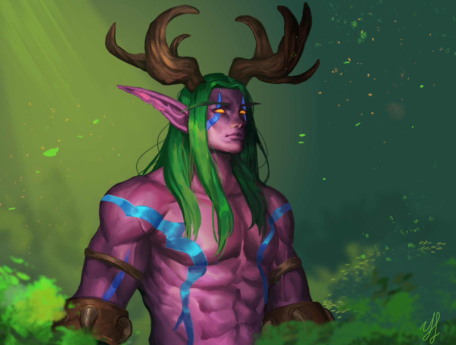 Beardless Malfurion By Ye Won Lee Imaginaryazeroth Malfurion is a great laning party for almost any other hero. beardless malfurion by ye won lee