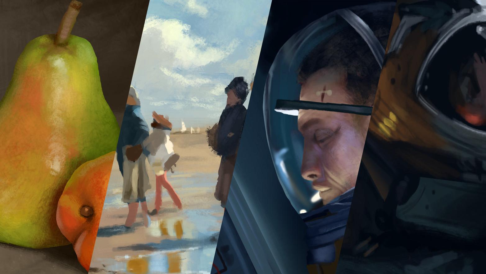 Painting Studies - August 2018