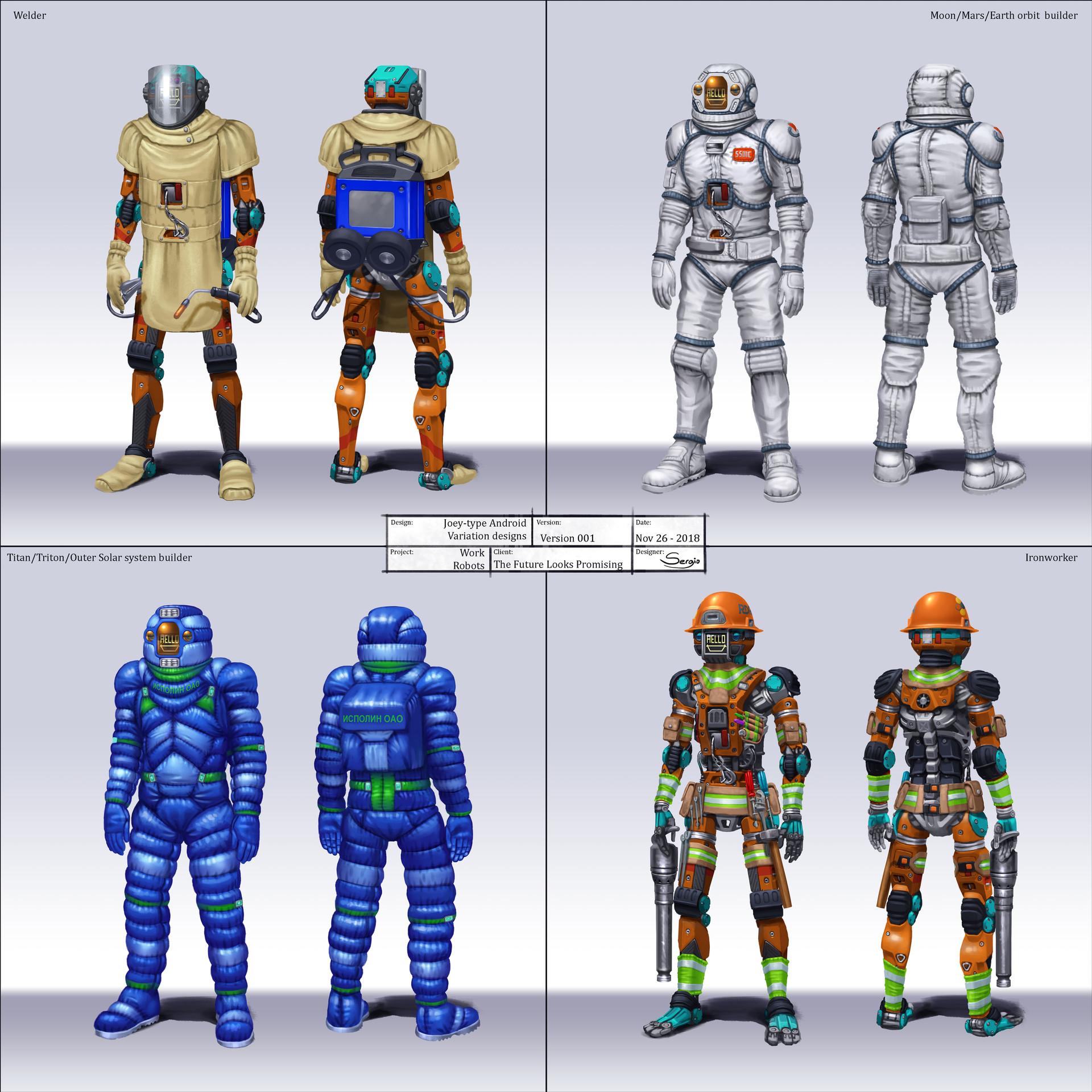 Sergio botero tflp masonbot variation designs