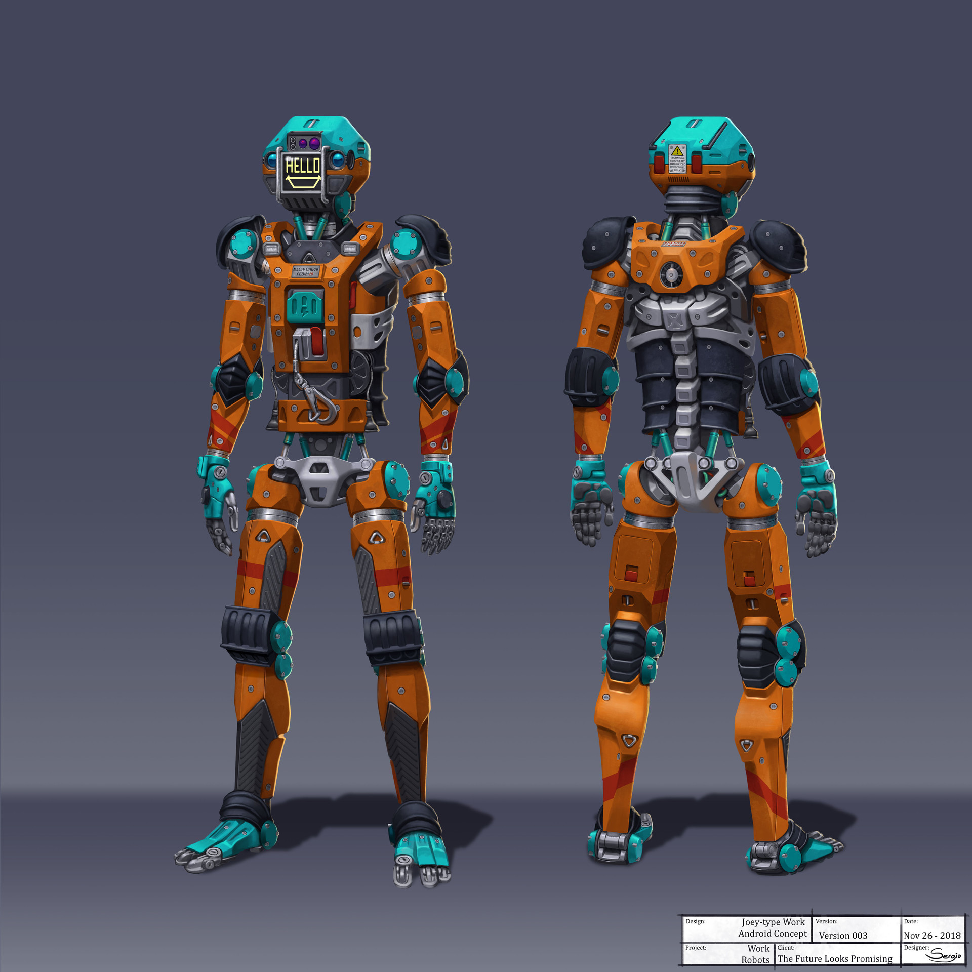 Sergio botero tflp masonbot concept