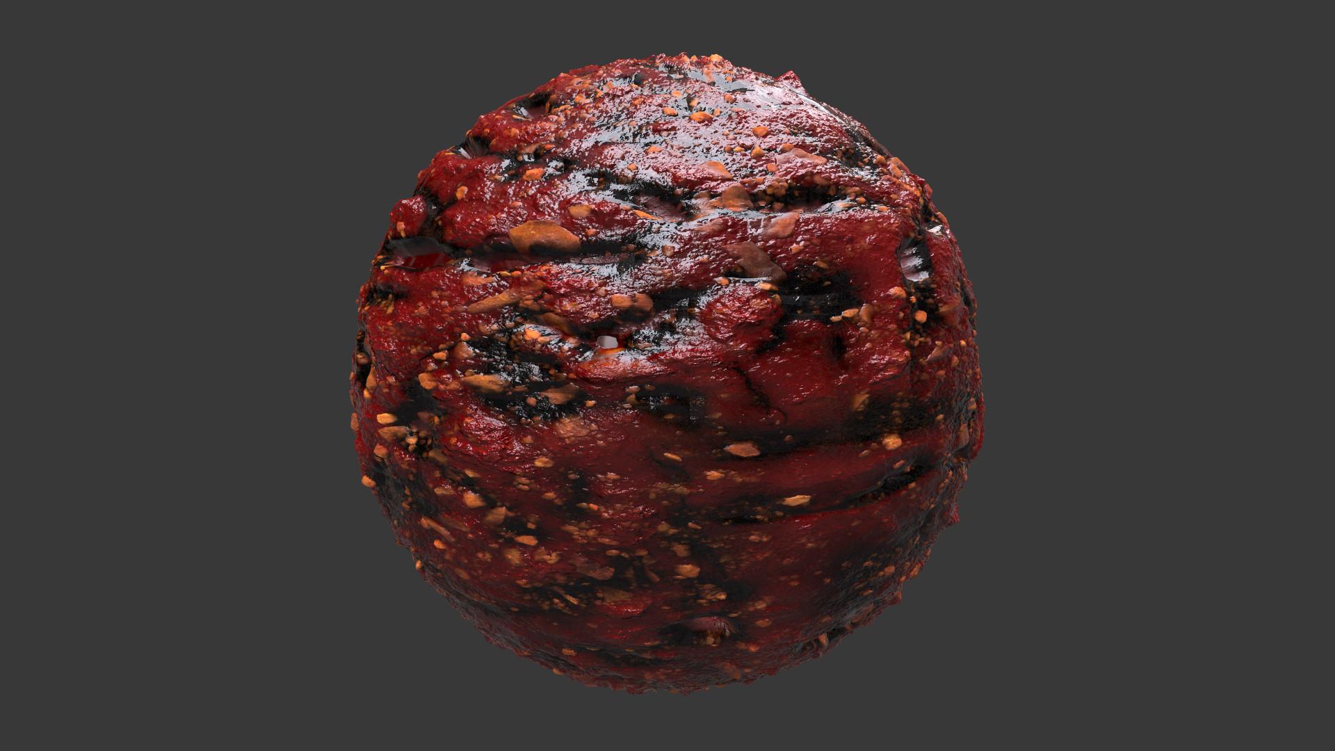 Anthony Lowe Organic Alien Blood Texture