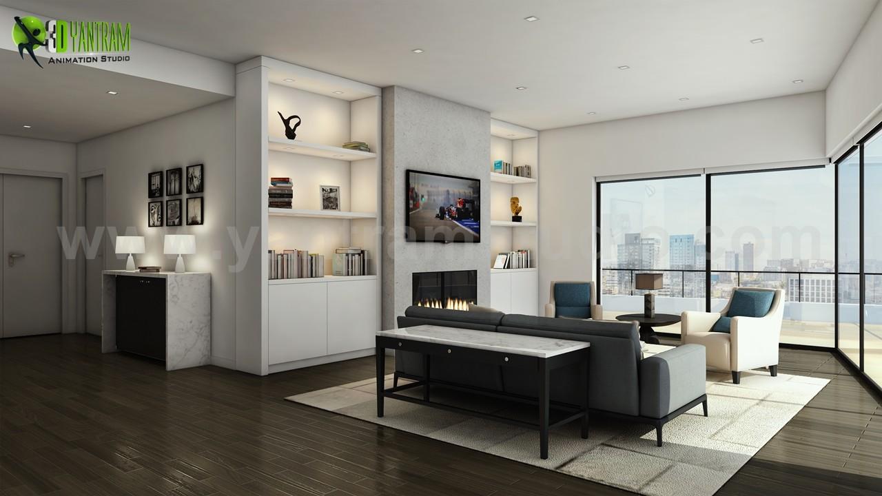 Modern Interieur Living : Yantram studio modern interior kitchen living design by