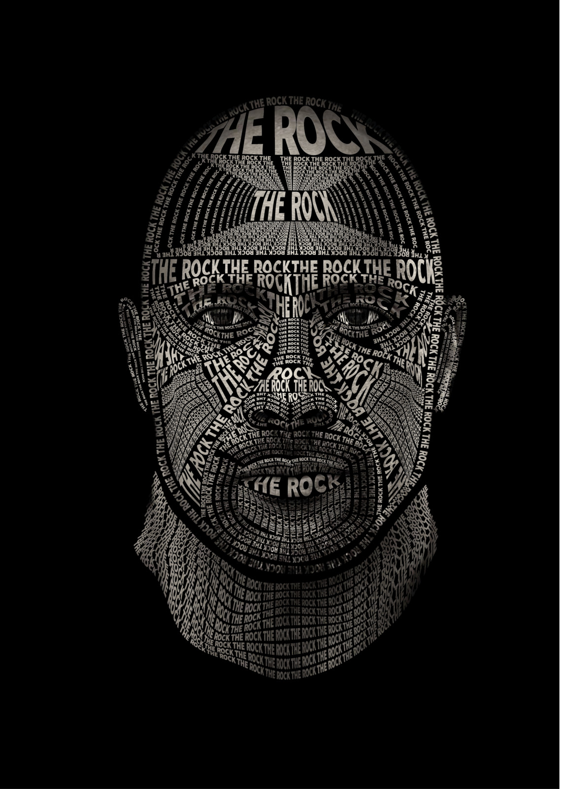 The Rock | typography