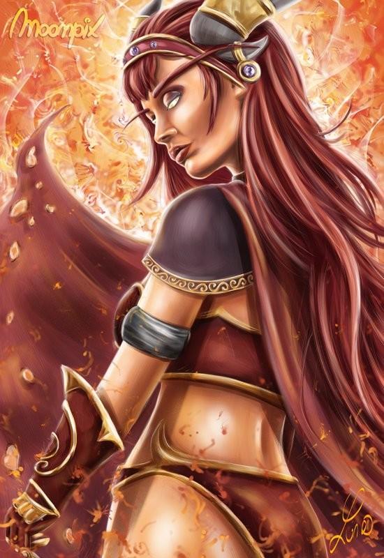 Alexstrasza, The dragon Queen
