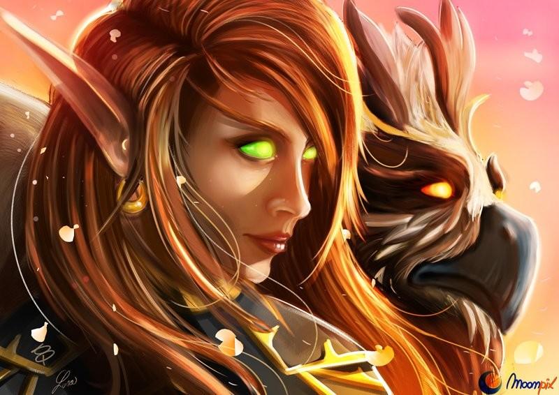 Blood Elf Hunter Commission