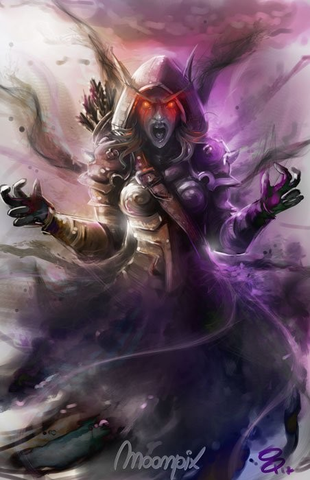 For The Horde! Sylvanas
