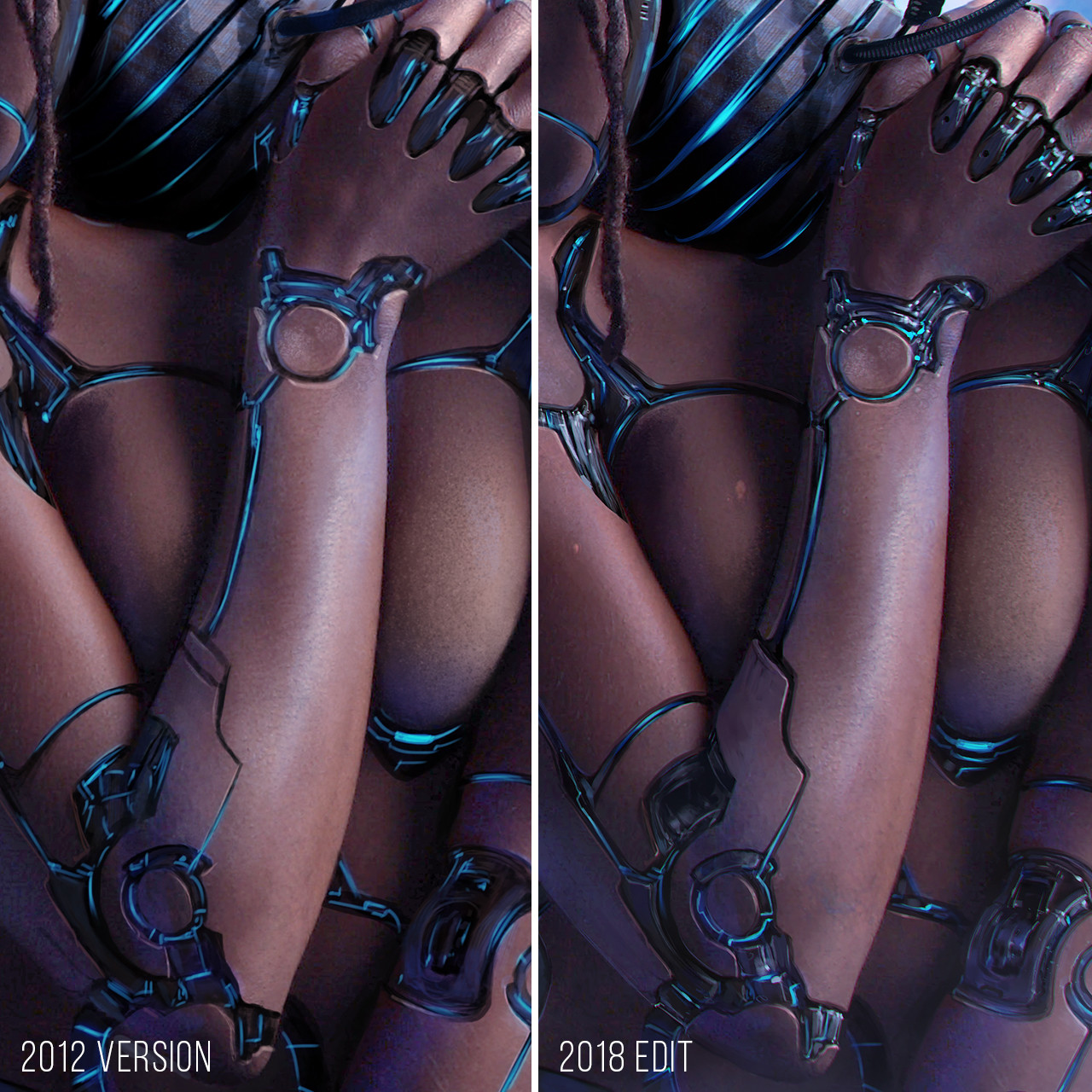 Version detail comparison