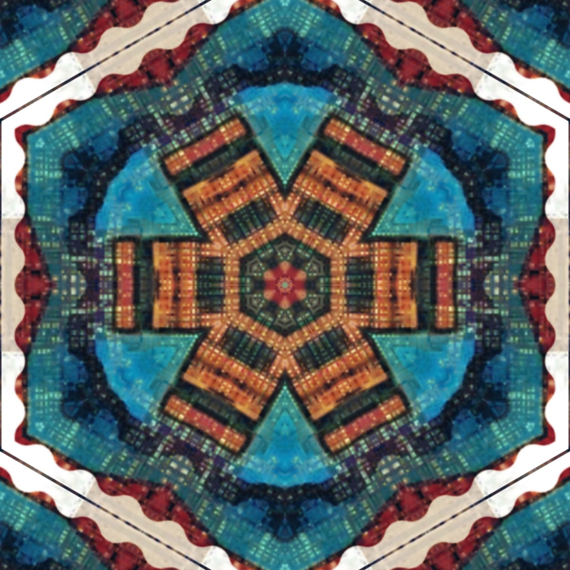 TheFamous CharmaineFierce - My design edited via mirror lab app on