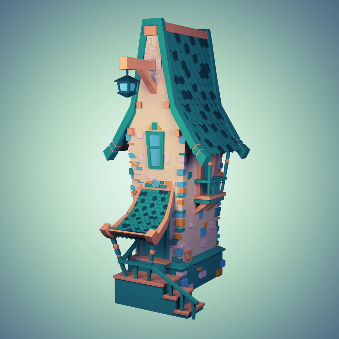 House Concept to 3D Model
