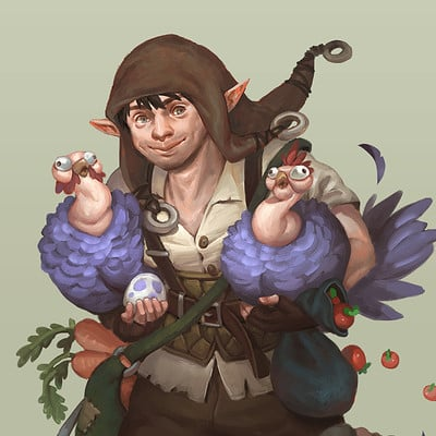 Michelle ang halfling thief