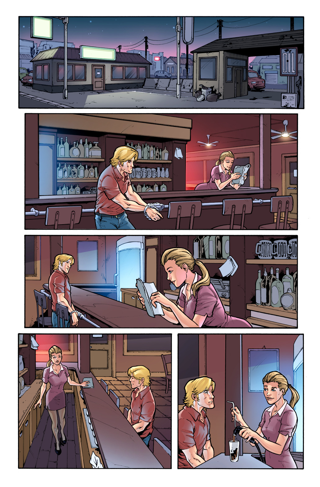 3 GUNS - #1, page 4