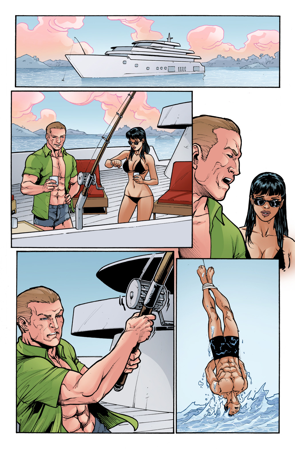 3 GUNS - #4, page 10