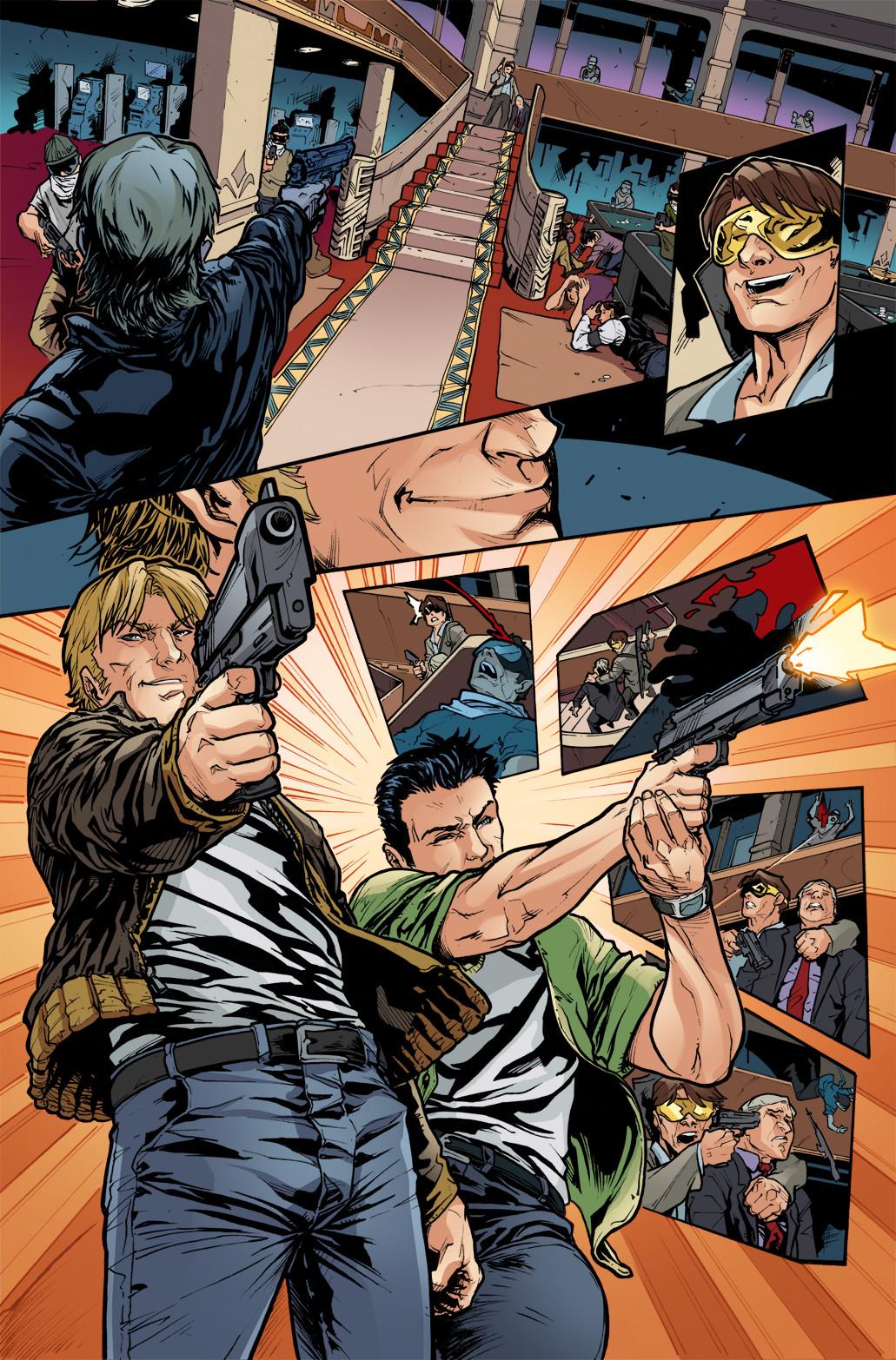 3 GUNS - #6, page 8