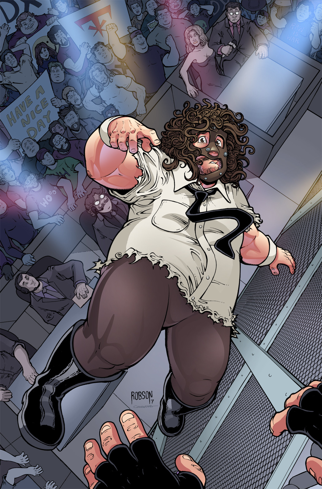 WWE - Mankind, Cover