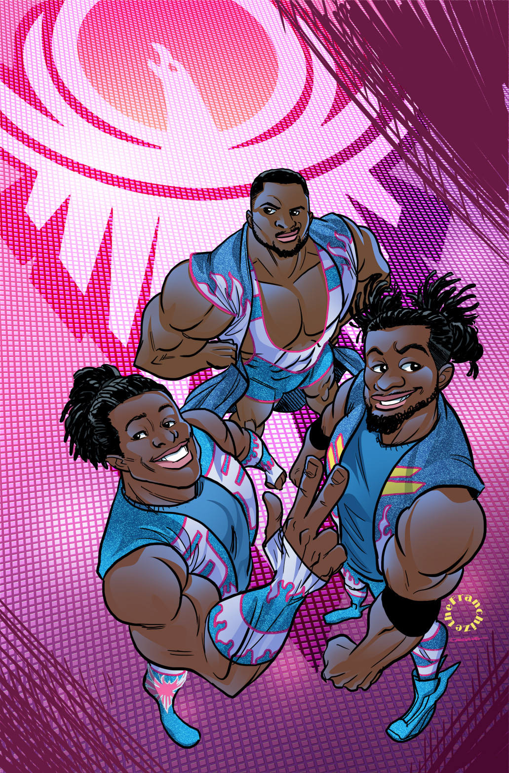 WWE - New Day, Cover