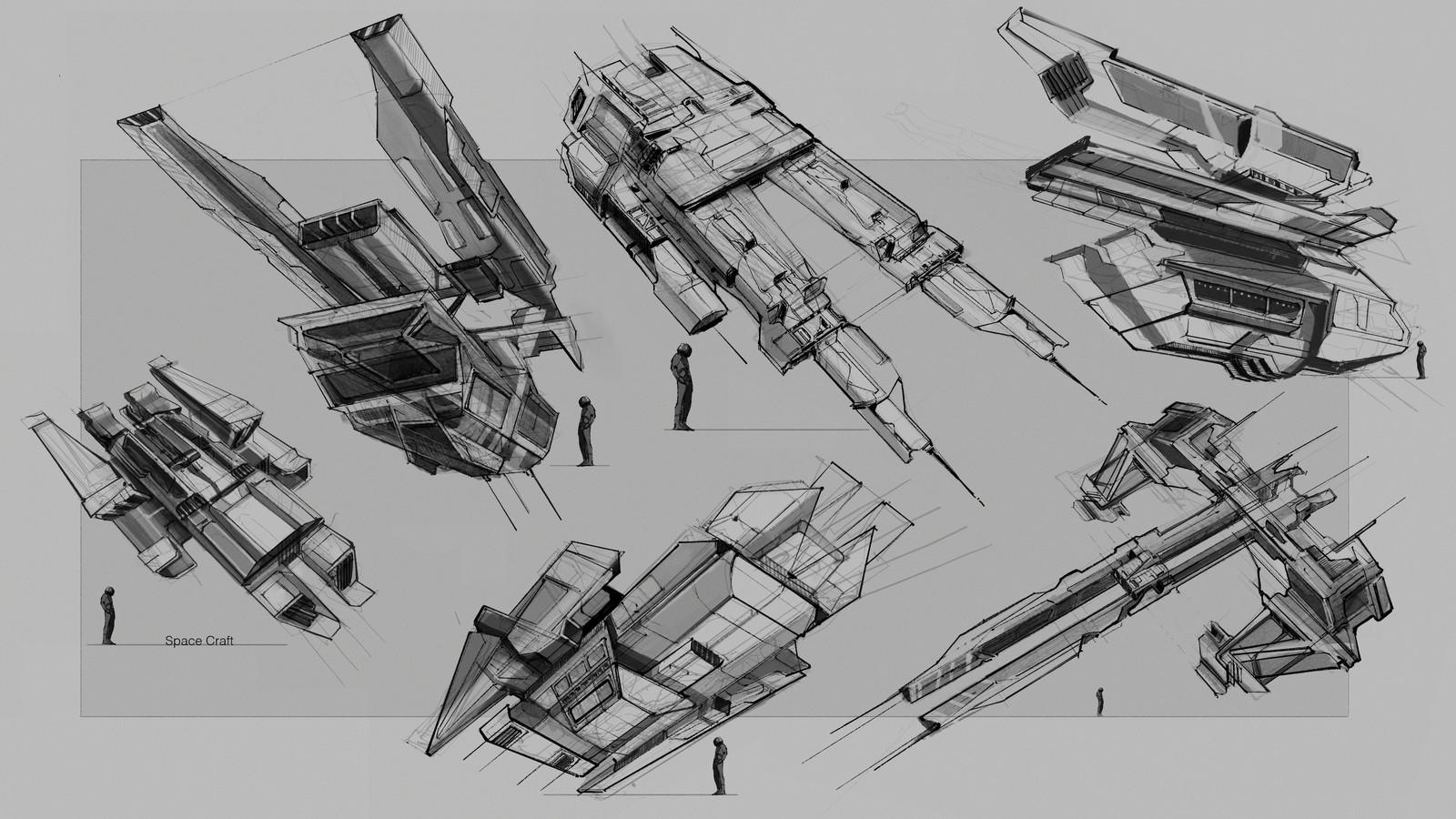 Spaceships Thumbnails