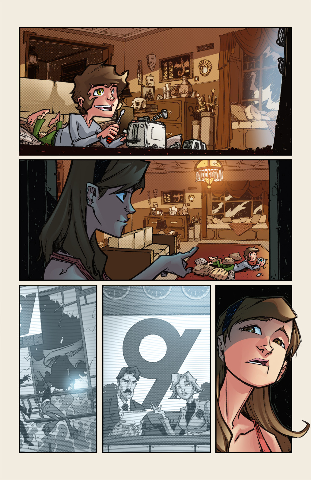 GONERS - #1, Page3