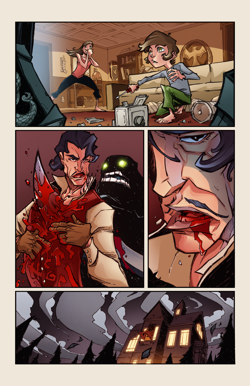 GONERS - #1, page 7