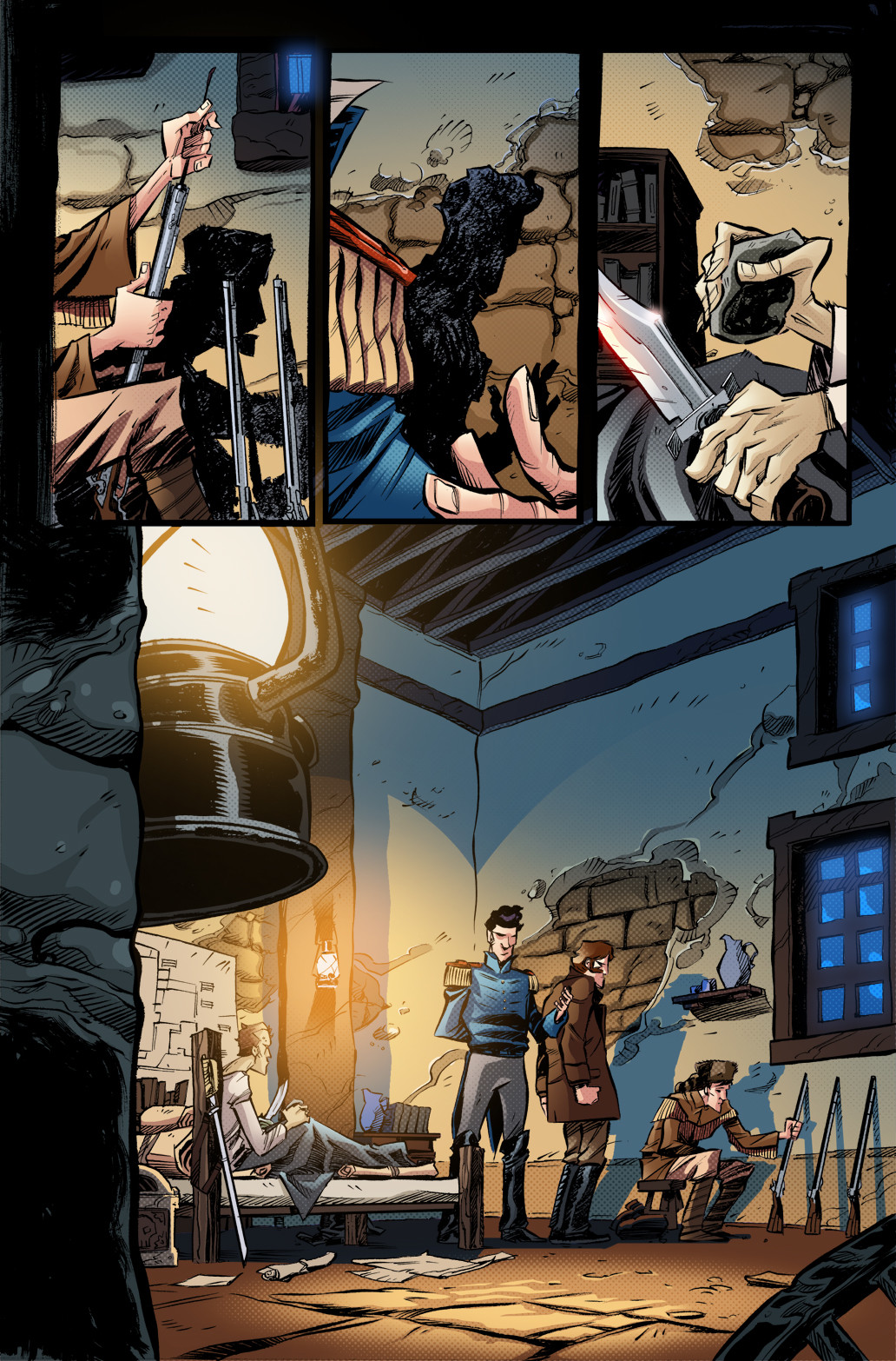 GONERS - #3, page 1