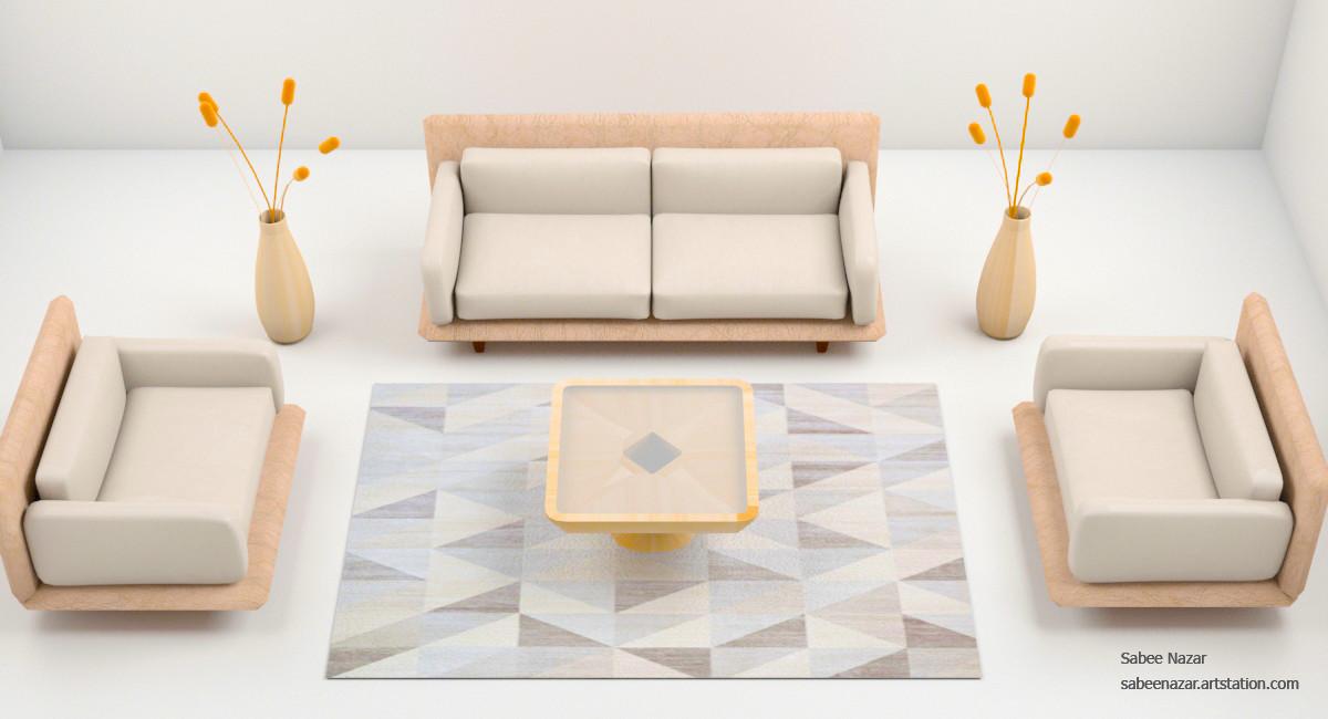 Terrific Artstation 3Dsmax Sofa Set Sabee Nazar Inzonedesignstudio Interior Chair Design Inzonedesignstudiocom