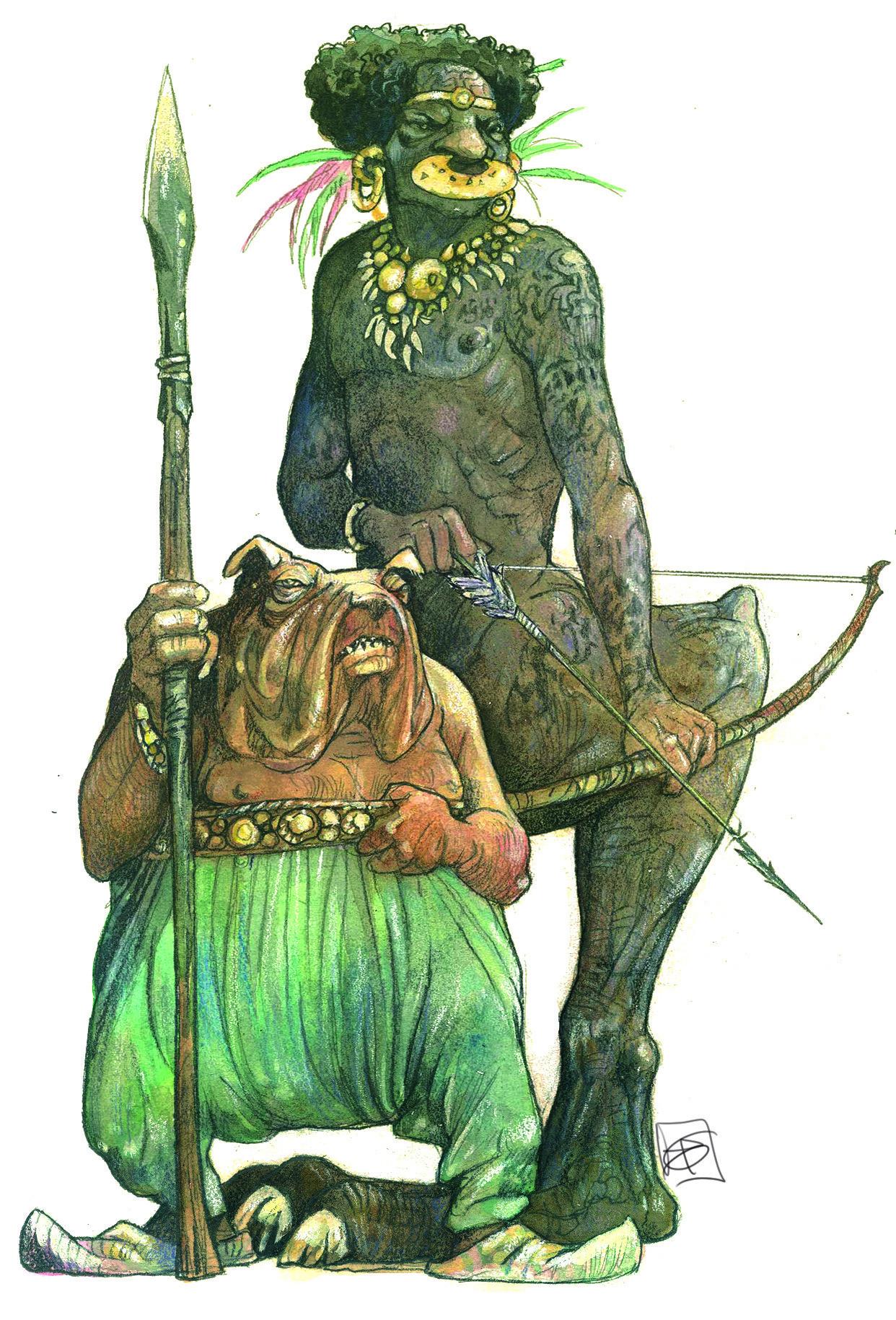 CINOCEPHALUS ET SCIAPOD