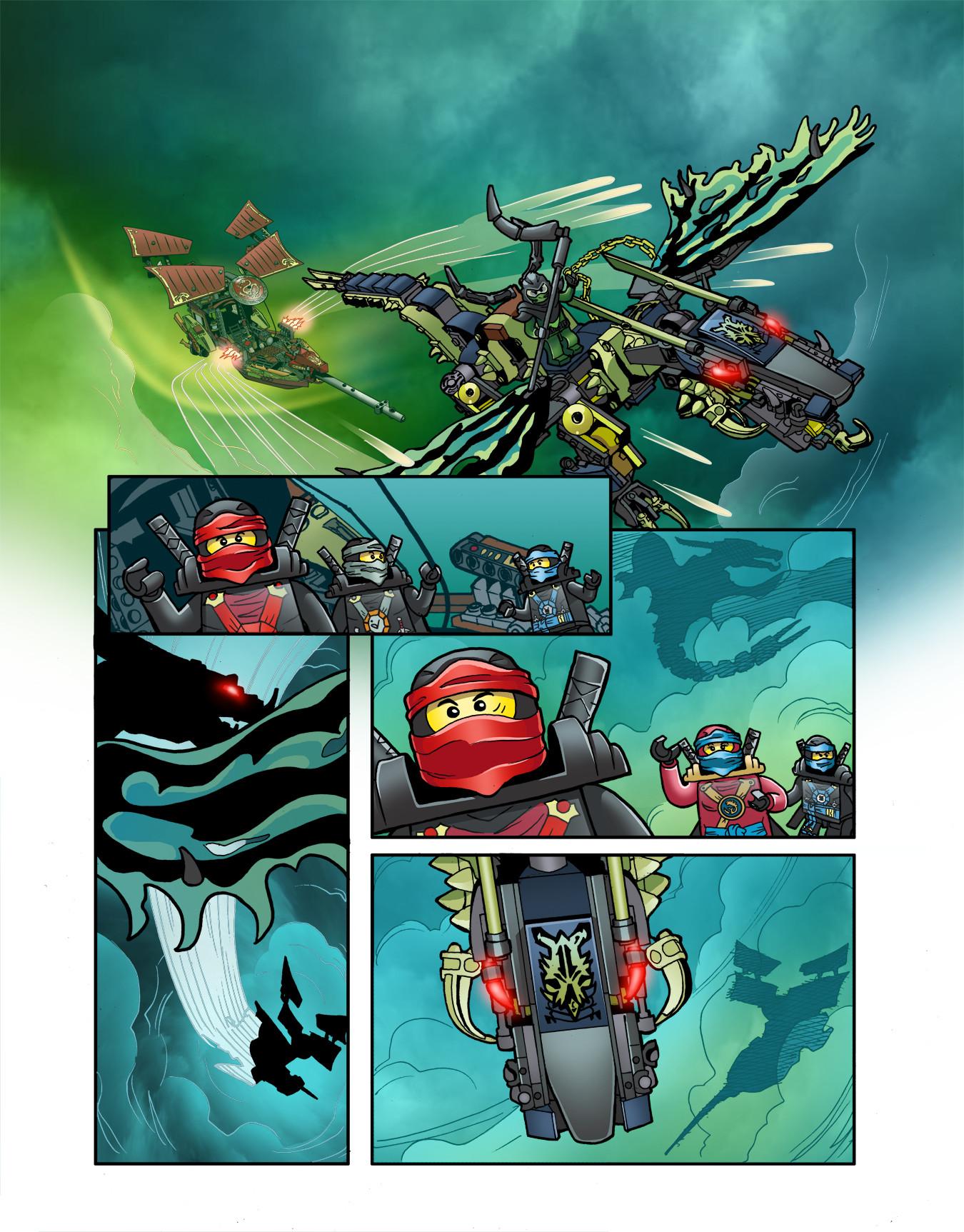 Gabriel cassata ninjago colors page 1