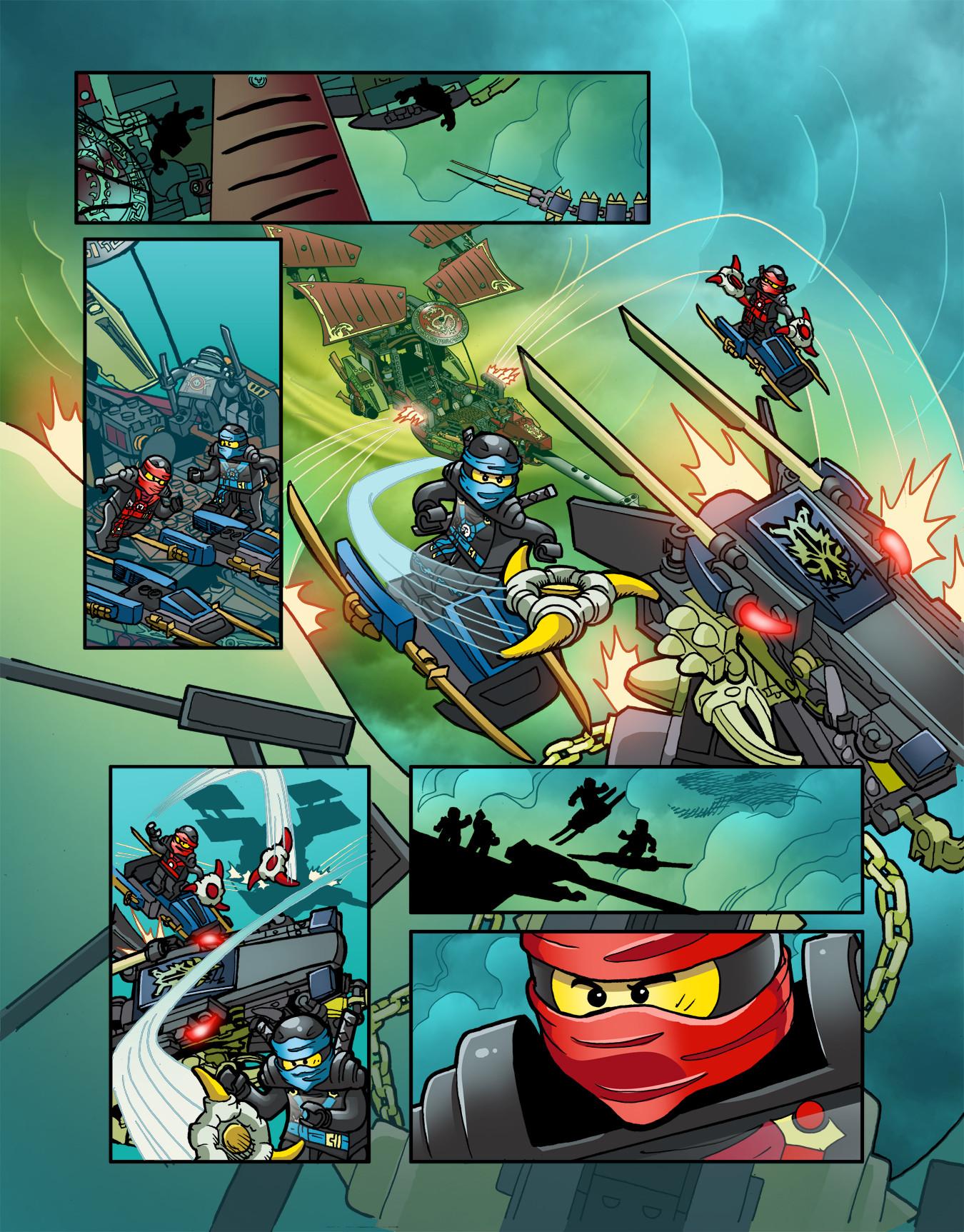 Gabriel cassata ninjago colors page 2